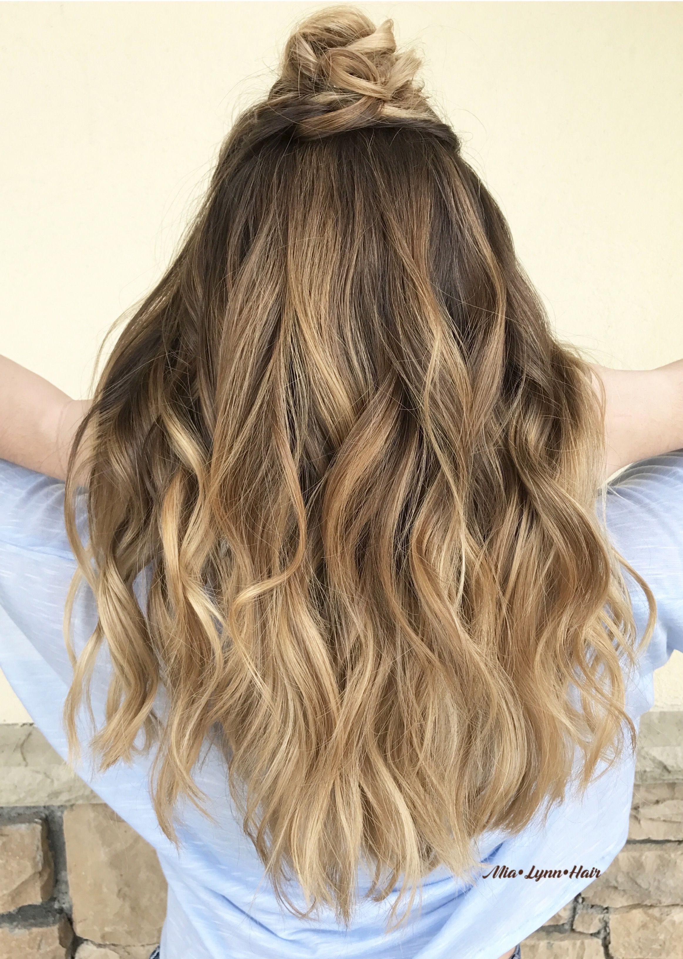 Balayage Balayage Highlights Brown Hair Blonde Hair Sombre Warm