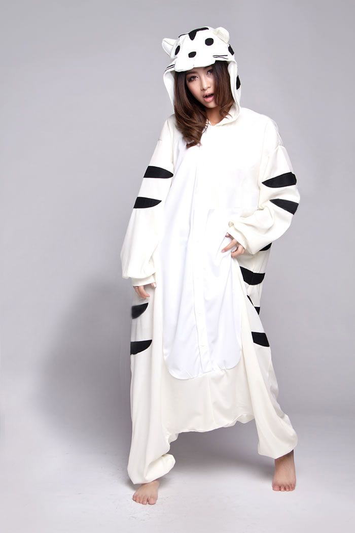 78dc5213a63f White Tiger Adult Onesie  78 enough to hide our festive bulges ...