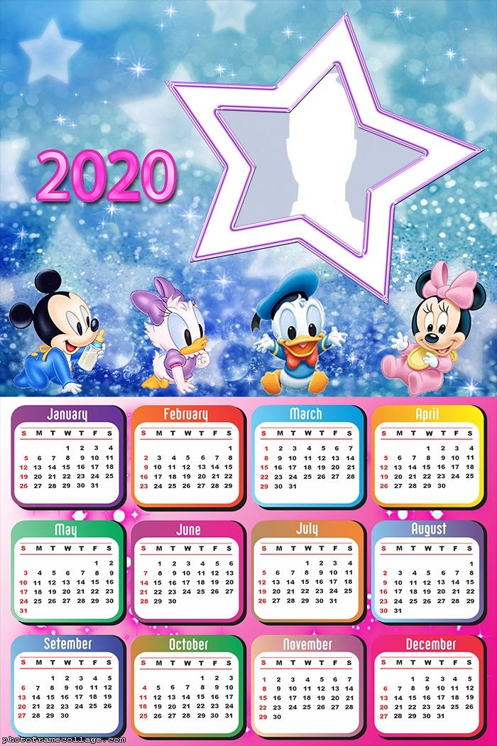 Disney Baby Star Calendar 2020 Faaliyetler, Yeni yıl