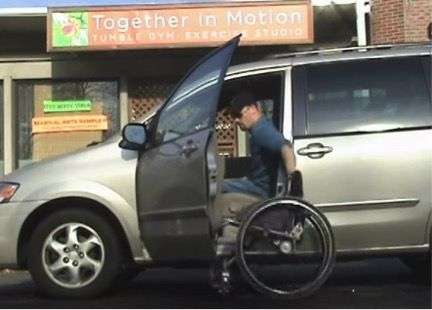 From Start To Finish This Paraplegic Demonstrates How To Transfer