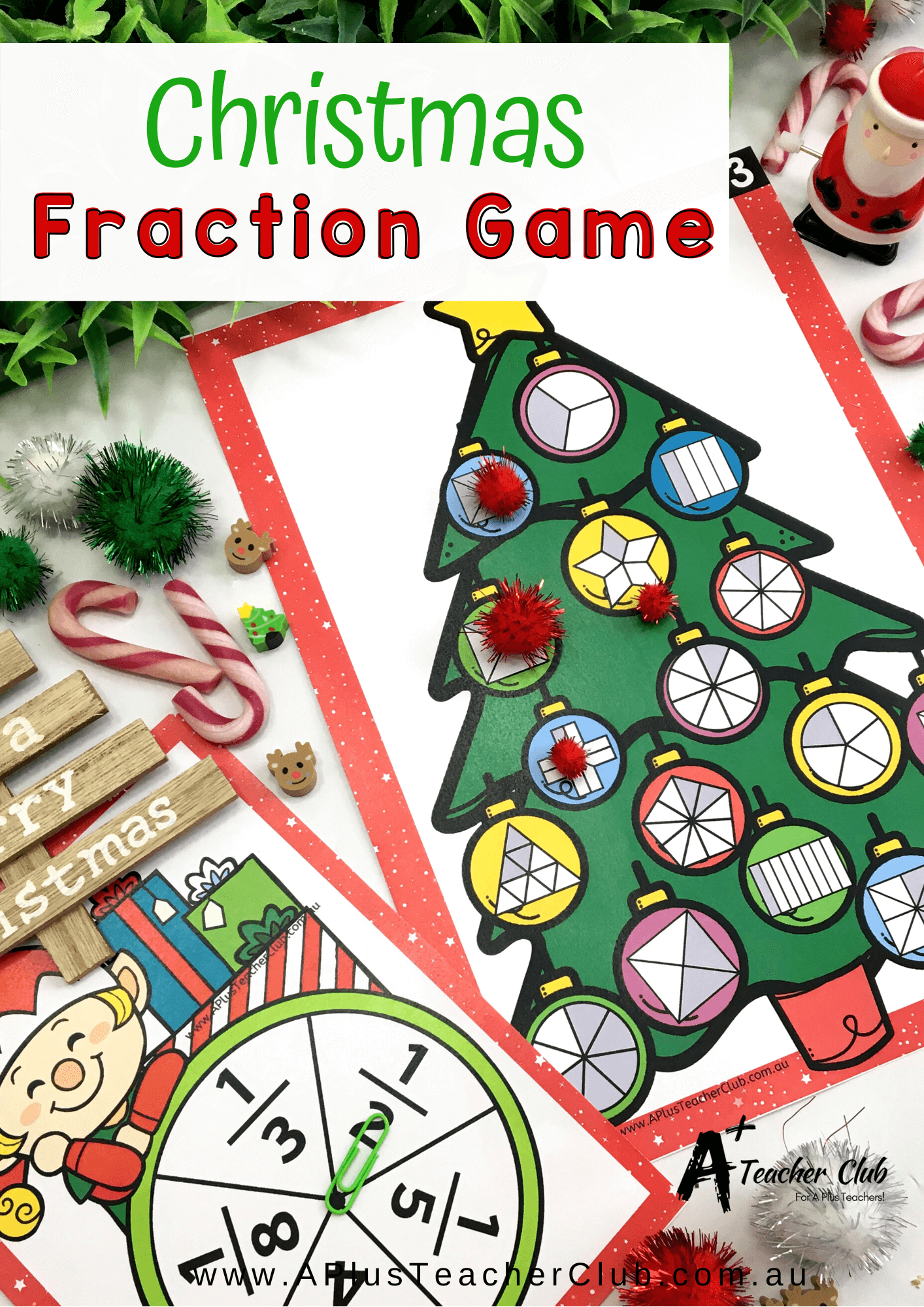 Christmas Math Printables For Kids