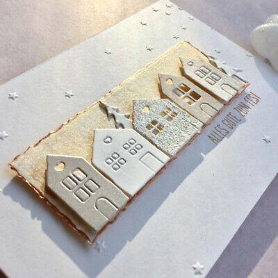 Weihnachten Baum Gruppe Metall Stencil Cutting Dies Scrapbooking Stanzschablone