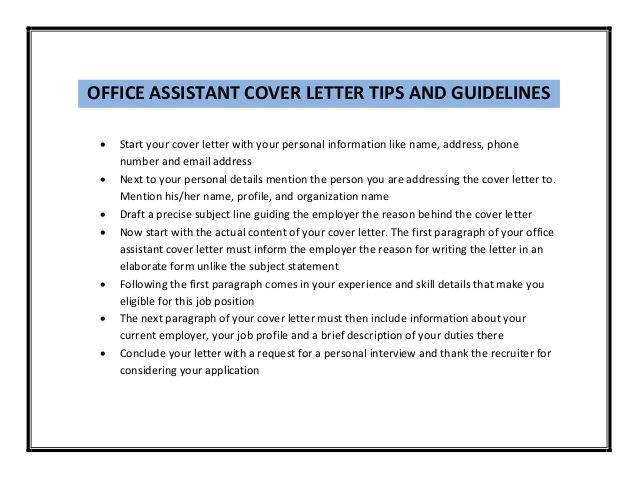 office aid in a school cover letter - Google Search Job Hunting - cover letter for office assistant