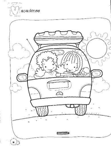 Desenhos Para Colorir Projeto Volta As Aulas 01 Desenhos De