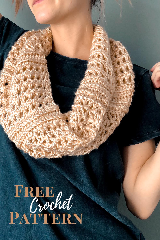 Photo of Lacy Crochet Scarf Pattern