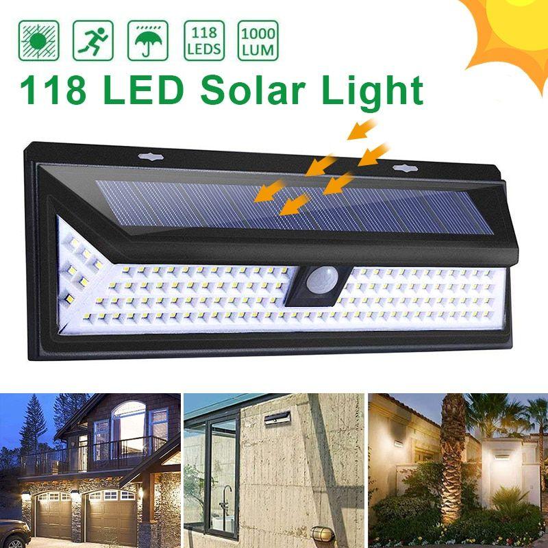 Cheap Lámparas Solares Led Buy Directly From China Suppliers Goodland 118 Led Luz Luces Solares Iluminación Solar Al Aire Libre Lamparas Solares Para Exterior