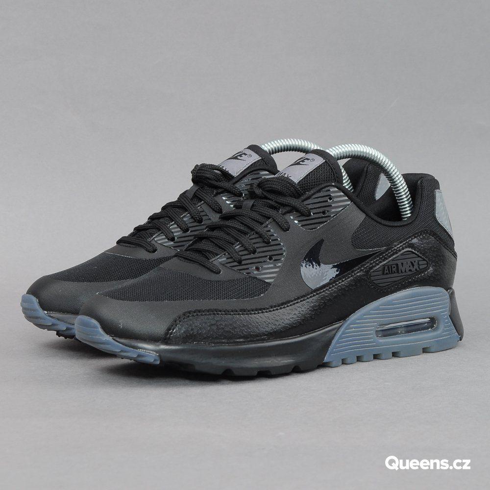 ... get nike w air max 90 ultra essential black black cool grey pr pltnm nízké  dámské 94244534ff