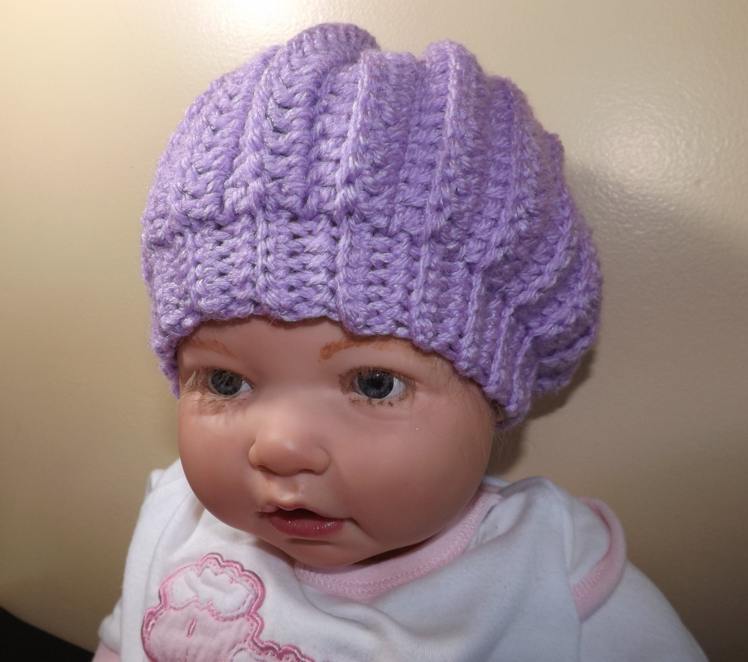 Cute little baby hat. Easy enough to do for beginners. | Crochet ...
