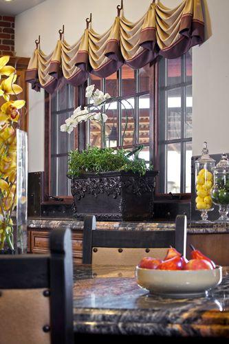 Custom Drapery In Arizona Kitchen Great Room Window Treatments Custom Window Treatments Window Styles