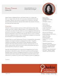 Resume writing services for accountants