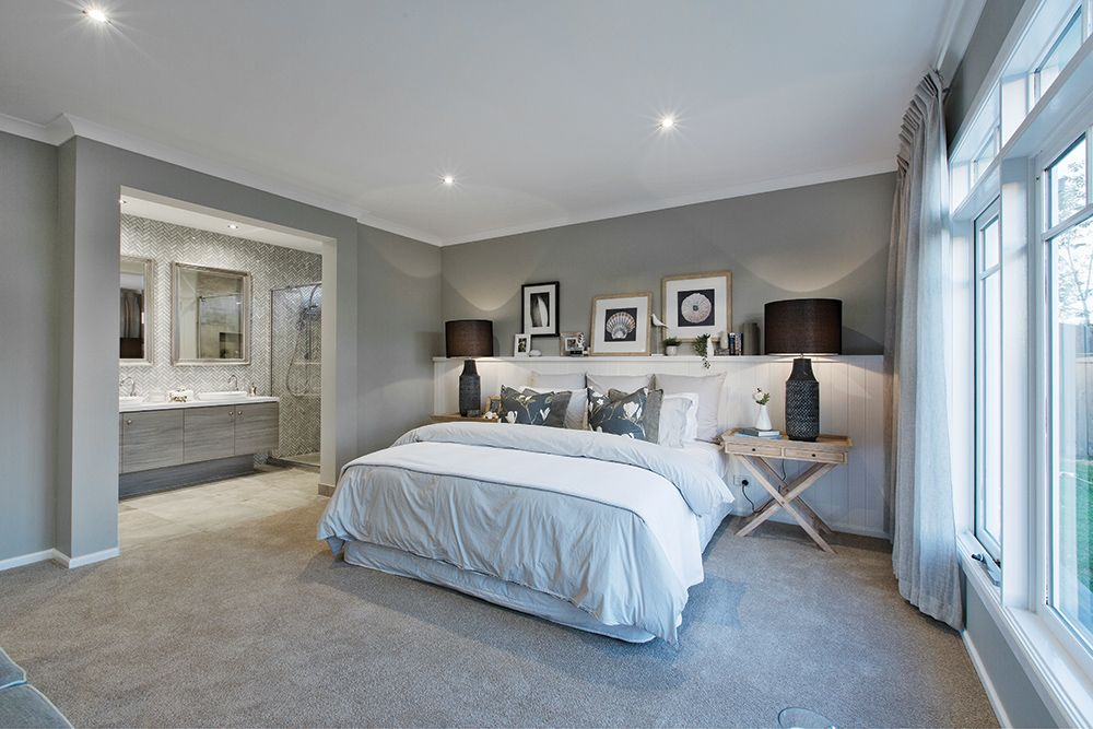 Master Bedroom In The Vancouver Display With A Classic