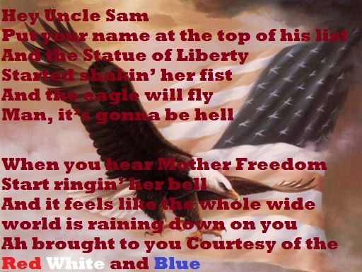 Courtesy Of The Red White And Blue Toby Keith Country Song Lyrics Country Songs Quotes