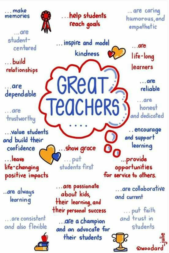This a a depiction of what makes a good teacher a great ...