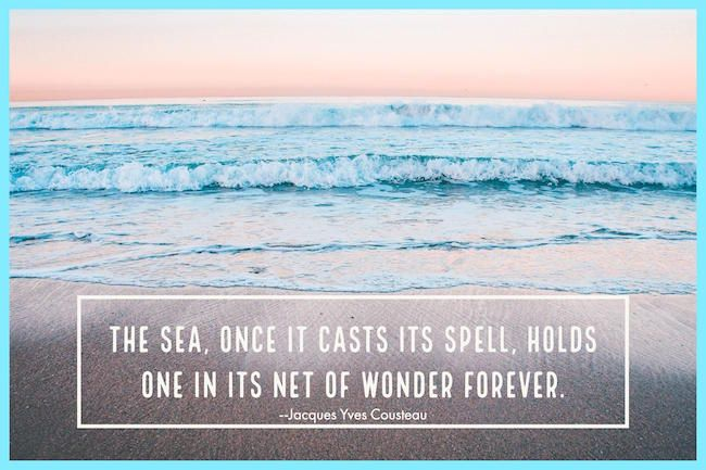 Ocean Quotes and Sea Sayings to Marvel At Ocean quotes