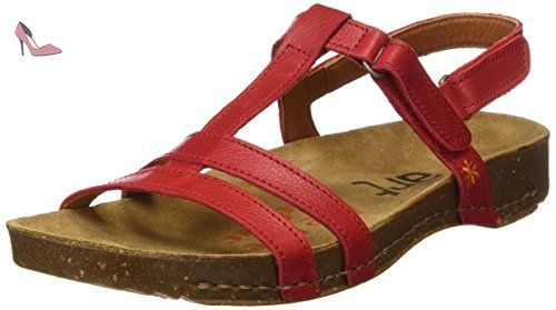 ART 1001 Mojave I Brea, Sandales à Bride à la Cheville Femme, Marron (Brown), 39 EU