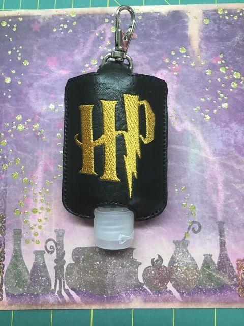 Hp Sanitize Holders Hand Sanitizer Holder Machine Embroidery