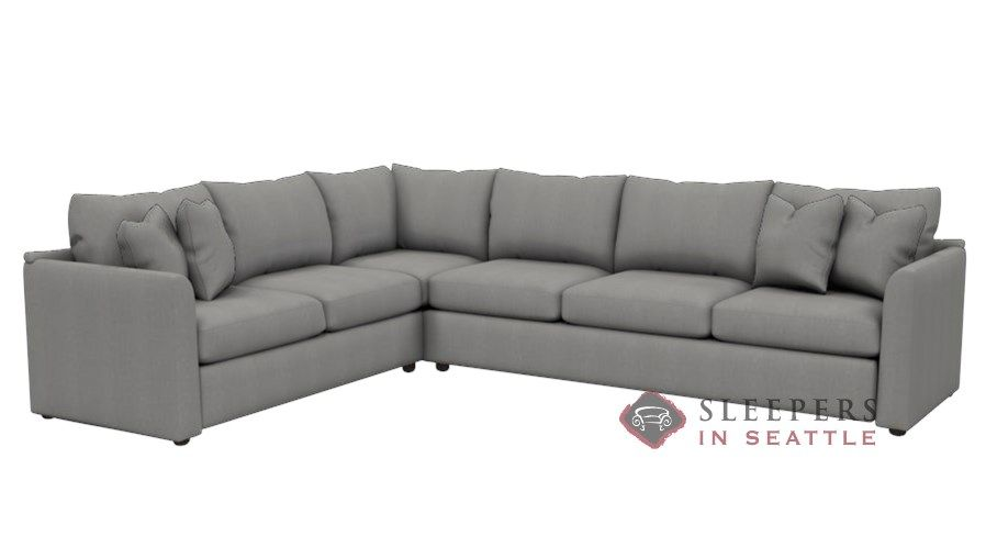 Savvy Aventura True Sectional Queen Sleeper Sofa | Sectional ...
