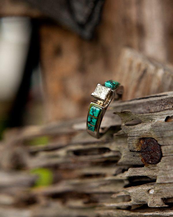 Turquoise Wedding Rings The Wedding Specialists Turquoise Wedding Rings Western Engagement Rings Turquoise Ring Engagement