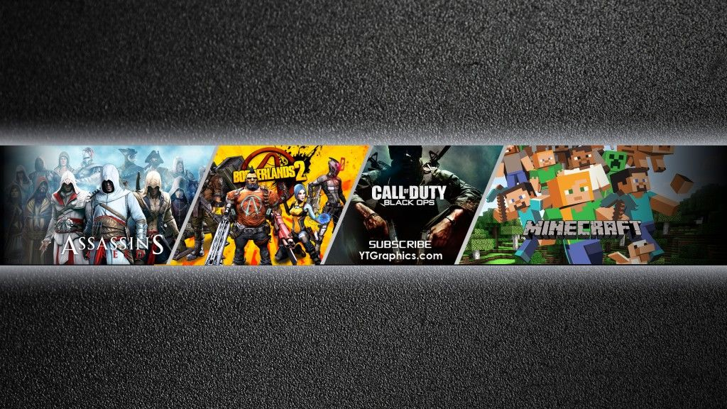YouTube Gaming Channel Art Banner Youtube Channel Art in 2019