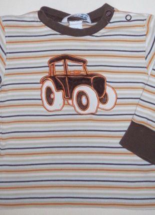 Kaufe meinen Artikel bei #Mamikreisel http://www.mamikreisel.de/kleidung-fur-jungs/kurzarmelige-t-shirts/25944475-shirt-langarm-hm-gr-86
