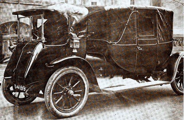 1912 Aberdonia Landau The Aberdonia Was An English Car