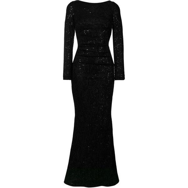 Polaroid1 dress - Black Talbot Runhof rvJcVsl8o
