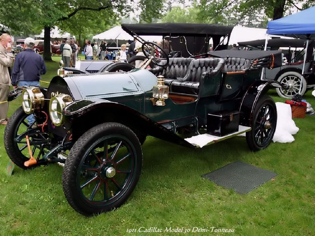 Old Cars - 1911 Cadillac Model 30 Demi-Tonneau | American old cars ...