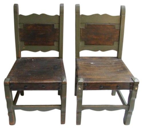1920's Hand painted Mexican chairs | My Style | Pinterest ...