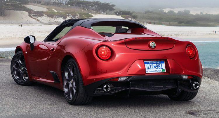 Alfa Romeo 4C Spider 2016 a precios desde $63,900 en los EE.UU. » Los Mejores Autos