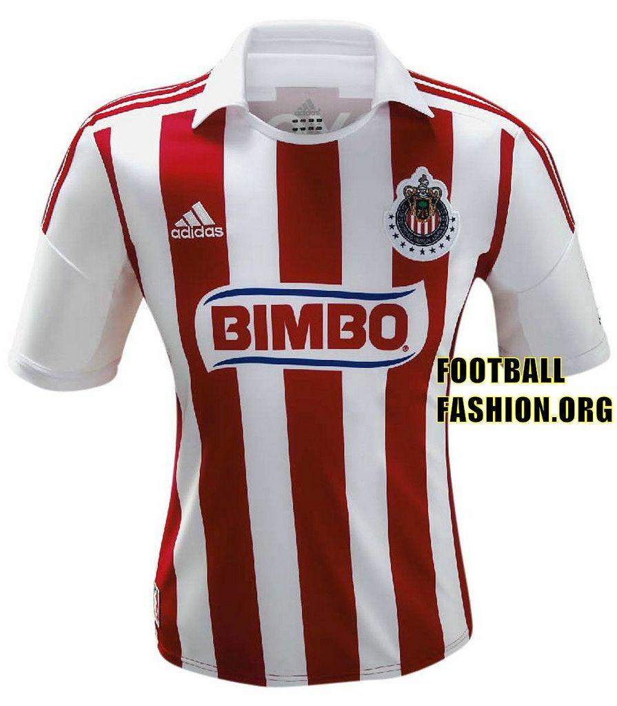 decdb338832 Chivas de Guadalajara adidas 2012 13 Home Jersey