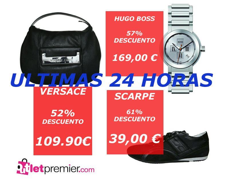 #VERSACE, BOLSOS #HUGOBOSS...EN #OFERTA EN NUESTRA WEB, ULTIMAS 24 HORAS
