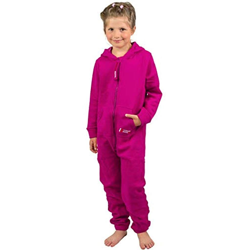 gr/ün Gr/ö/ße L Flausch Jumpsuit PEARL basic Fleeceanzug: Jumpsuit aus flauschigem Fleece