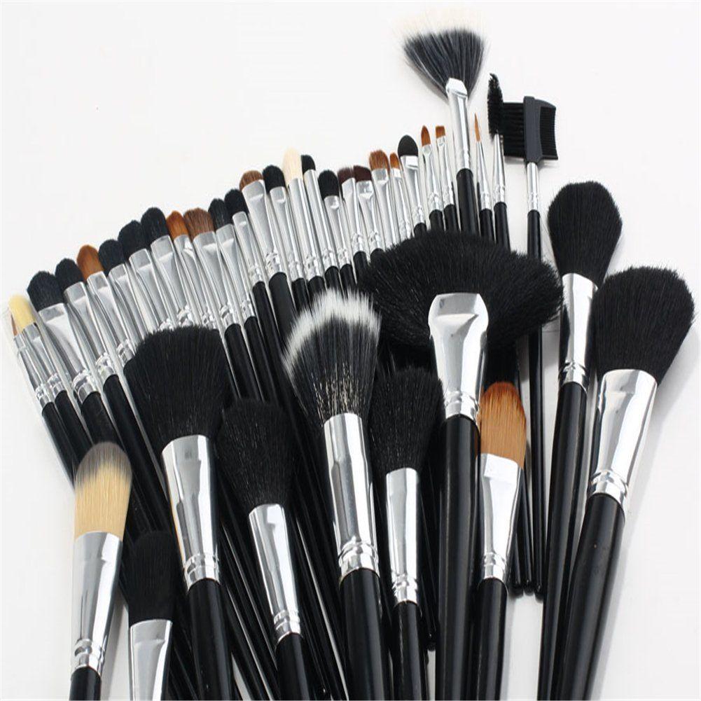 Pure Vie 38 Pcs Professional Cosmetic Makeup Brushes Set