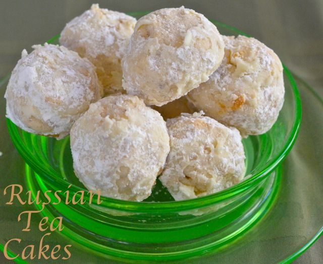 Luci's Morsels | Russian Tea Cakes