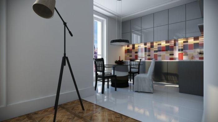 glasbild küche glasrüclwand küche küchenrückwand aus glas Küche - glasbilder für die küche
