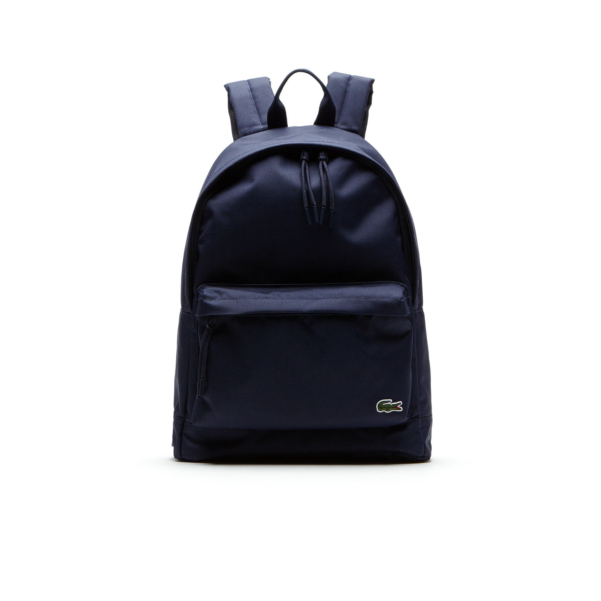 59adebae9523 LACOSTE Men s Neocroc backpack in canvas - peacoat.  lacoste  bags  canvas   backpacks  polyester