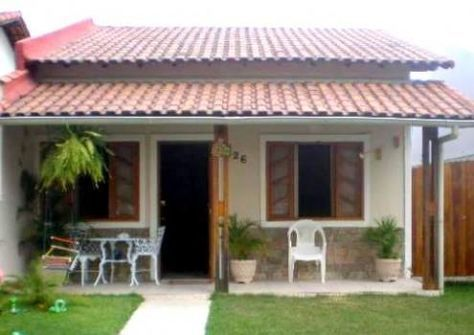 Photo of Fotos de fachadas de casas simples, pequenas e baratas – Decorando Casas