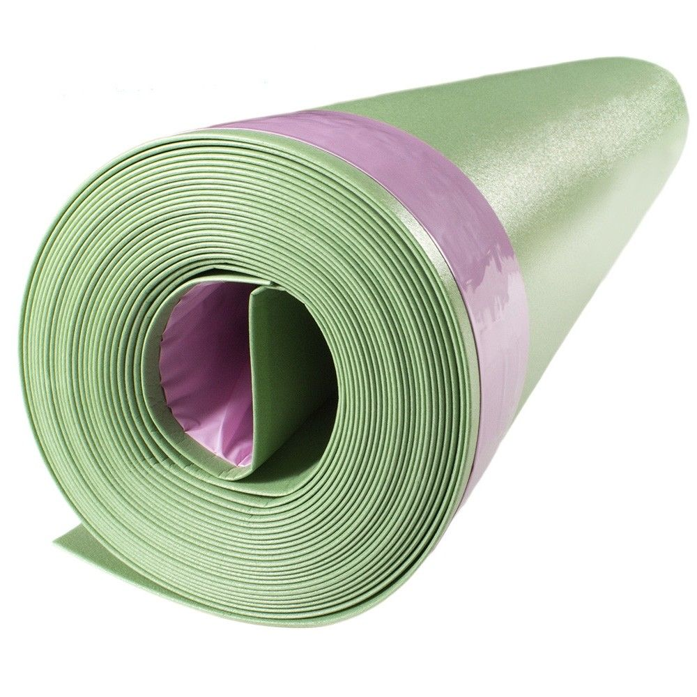 Floor Muffler Ultraseal Silent Flooring Underlayment 2mm 100sf Laminate Flooring Basement Layout Flooring