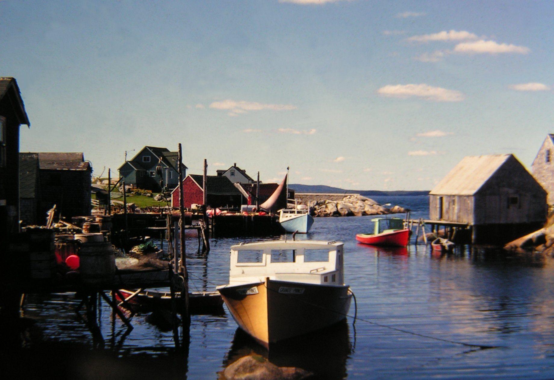 Canada. Nova Scotia. Peggys Cove, Nova Scotia, aug 1978