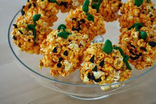 Pumpkin Popcorn Balls!~Sweet-Tooth