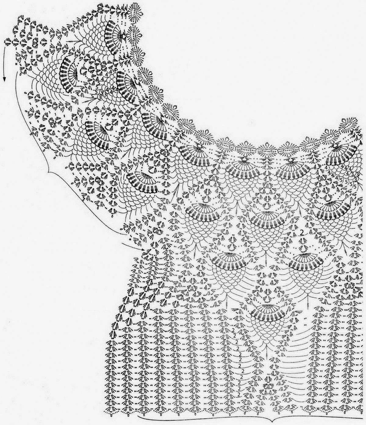 Sophisticated Lace Sweater For Women | Mis diseños preferidos ...