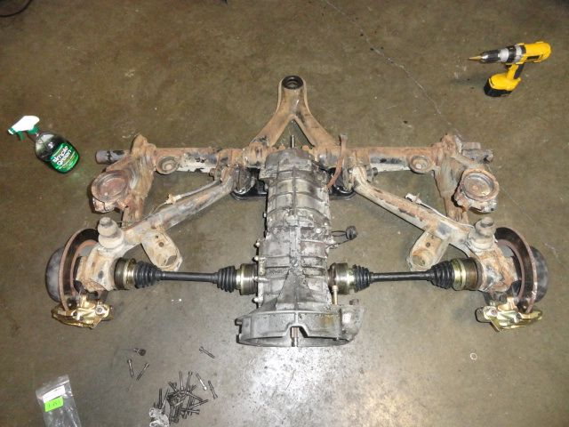 1971 Vw Beetle Rear Independent Rear Suspension Irs