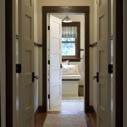 Dark Brown Trim Interior House Hall Photos Dark Trim Design