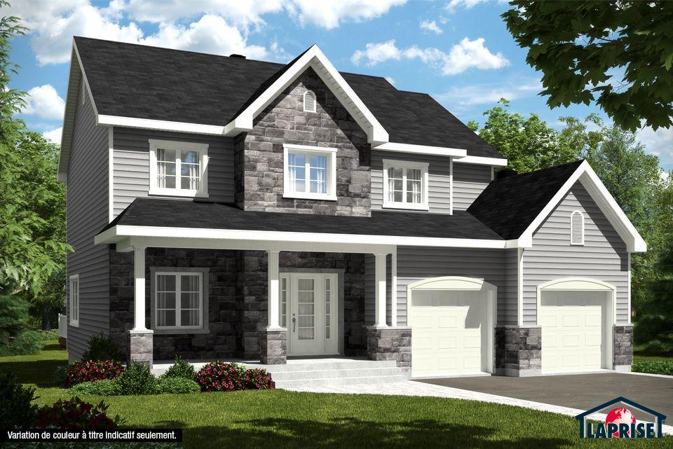 Champ tre lap0346 maison laprise maisons pr usin es dream house in 2019 house plans for Maison laprise