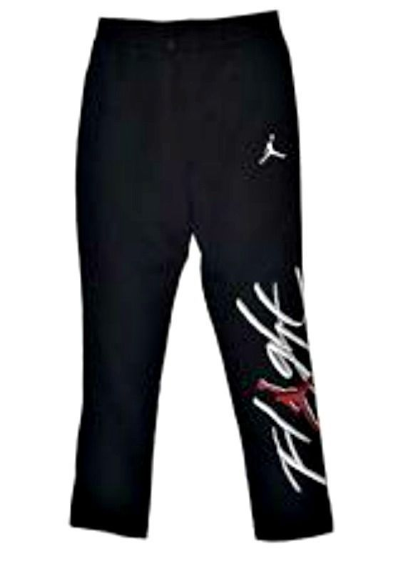 8d2584987d0 AUTHENTIC NIKE AIR JORDAN FLIGHT BRUSHED BLACK FLEECE SWEAT PANTS  845862-010 #Nike #TrackSweatPants