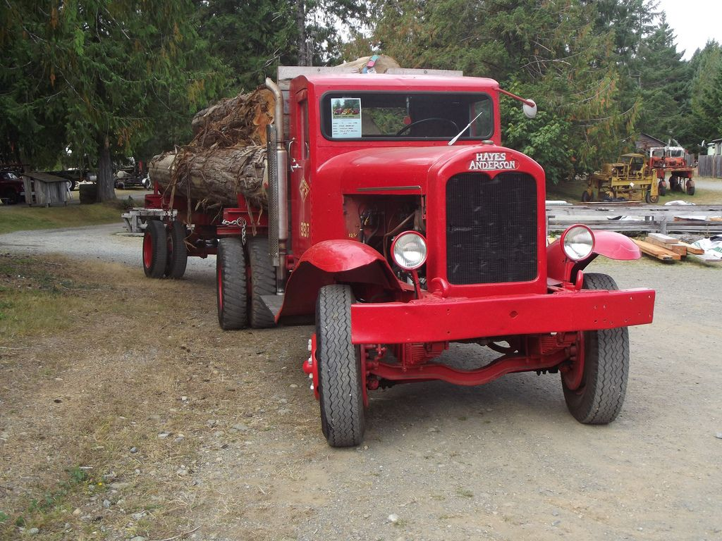1932 hayes anderson logging truck heavyhauling hayes for Hayes motor company trucks