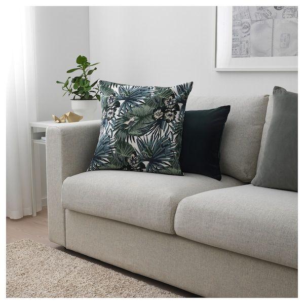 Tessuto a metraggio bianco/verde 150 cm Ikea