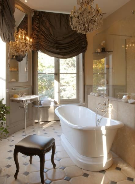 The French Chateau Bathroom Beautiful Bathrooms French Country