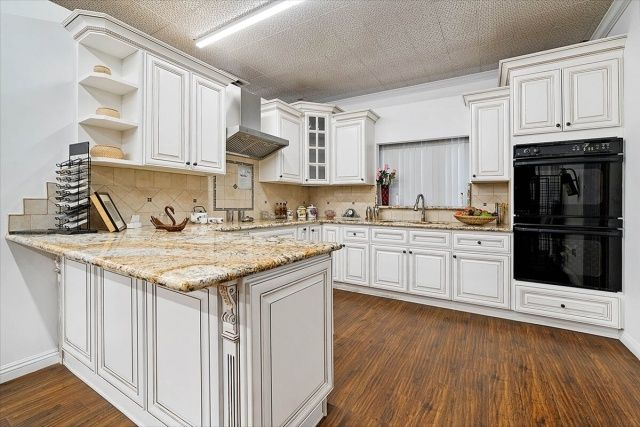Pics Of Kitchens With Off White Cabinets in 2020   Antique ...