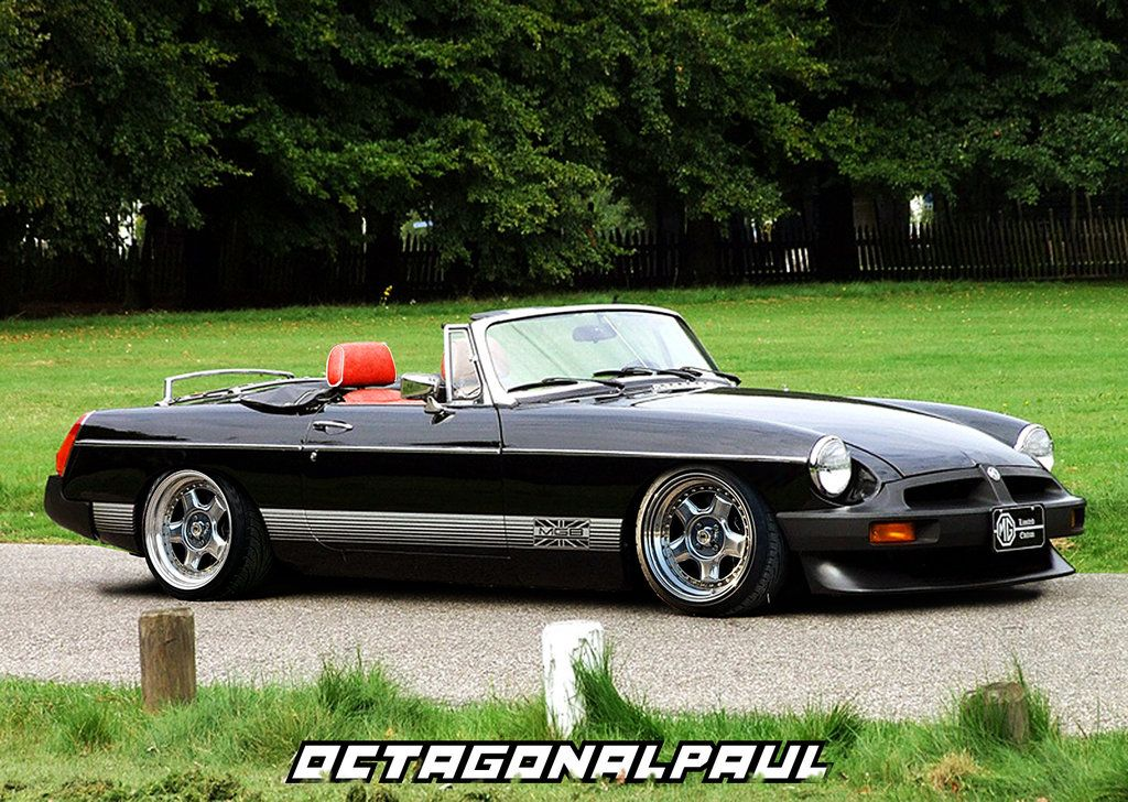 Mgb Roadster Modified By Octagonalpaul Roadsters Classic Sports